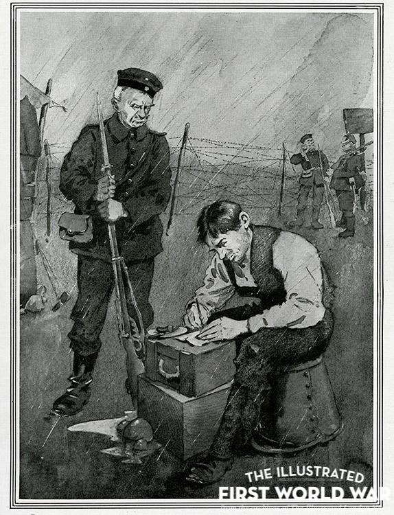 war creative writing